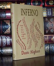 Inferno by Dante Alighieri Divine Comedy Unabridged Deluxe Soft Leather Feel