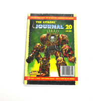 The Citadel Journal #20 Games Workshop Magazines Games Workshop