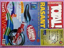 TOTAL! 100% Nintendo Magazin 06/1996 – Sammelauflösung – Sehr guter Zustand