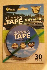 Bird Crow Pest Control Scare Repellent Deterrent Ultrasonic Audible Humming Tape