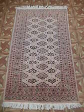 Handmade Rug (38 x 62 in) Turkish knot Candy Apple Transitional Rug