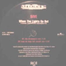"""5ive* – When The Lights Go Out - Movimento 74321585601 VINYL 12"""" HOUSE"""