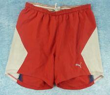 PUMA Short Homme Taille XL - Rouge