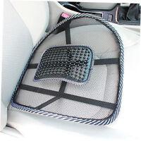 Chair Massage Back Lumbar Support Mesh Ventilate Cushion Pad Car Office Seat KT