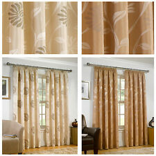 Jacquard Curtains & Pelmets with Pencil Pleat