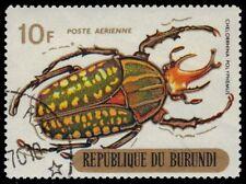 Echte Briefmarken mit Insekten- & Schmetterlings-Motiven aus Burundi