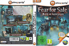 Fear For Sale: Mord in Sunnyvale (PC, 2013, DVD-Box)