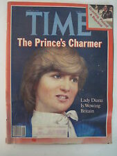 Time Magazine 4-20-1981. Princess Diana Cover! Royal Family! Montreal Expos!