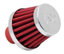 "62-1600RD K&N Vent Air Filter 3/8""-1/2""ID FLG X 2""OD B X 1.5""T X 1-3/4""H, CR (KN"