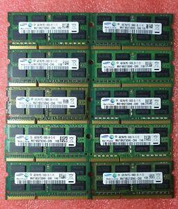 Samsung Job Lot 10x4GB DDR3 PC3-10600S 1333MHz SODIMM Laptop RAM Memory 204pin