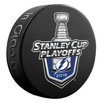 2016 NHL Tampa Bay Lightning Stanley Cup Playoffs Logo Commemorative Hockey Puck