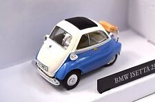 BMW ISETTA 250 BLUE WHITE 1:43 CARARAMA 251PND NEW