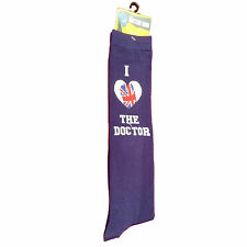 Doctor Who I Heart 1 Pairs Of Knee High Socks NEW Toys Dr Who Clothing