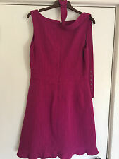 Ladies Dress RRP£58 Size 14 Large, St Tropez design, lined, with belt