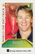 2007-08 Select Cricket Cards World Cup Hat Trick WSC17 Andy Bichel
