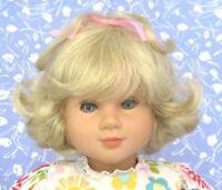 Tallina's W63 Light Blond Full Cap Doll Wig Size 14 Short Baby Doll Flip