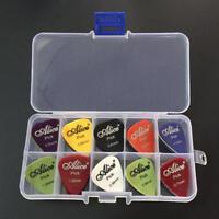 40 Guitar Picks Acoustic Electric Bass Pic Plectrum Mediator Musical Instrument