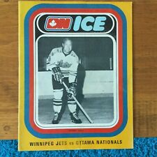 WHA Ottawa Nationals, Bobby Hull Winnipeg Jets Jan.28,1973 Norm Beaudin, Binkley