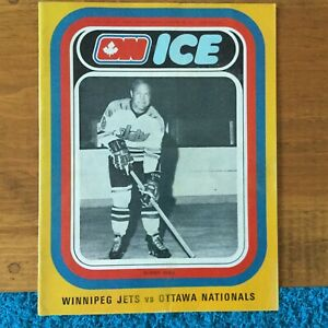 WHA Ottawa Nationals, Bobby Hull Winnipeg Jets Jan.28,1973 Norm Beaudin, Binkley