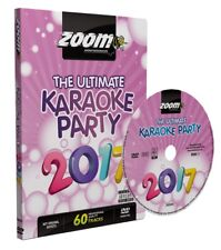 Zoom Karaoke Ultimate Karaoke Party 2017 (Region Free) DVD - 60 pistes sur 2 DVD