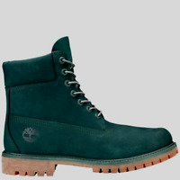 "Timberland Junior's 6"" Premium Boots NEW AUTHENTIC Dark Green A1P6A"