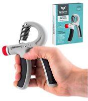 10-40kg Hand Strength Power Grip Adjustable Wrist Forearm Exercise Hands Pro UK