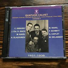 Quatuor Calvet, Vol. 1 (1931-1938) (2-CD Set) (Lys) - Claude Debussy [Composer..
