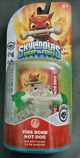 Skylanders Swap Force Frito Lay Crystal Green Fire Bone Hot Dog w/ UFO HAT! RARE