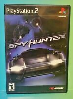 SpyHunter Spy Hunter  PS2 Playstation 2 Game 1 Owner FLAWLESS Mint Disc