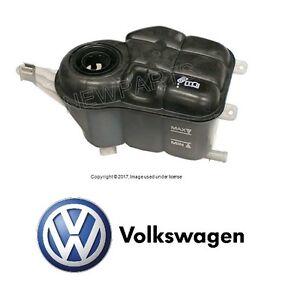 NEW For VW Passat 02-04 4.0L W8 GAS Coolant Expansion Tank Genuine 3B0 121 407 B