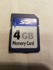Secure Digital Card 4GB 9pin SD Card