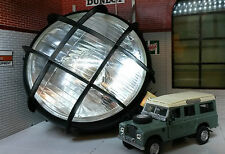 Land Rover Series 1 2 2a 3 Classic Vintage Steel Headlamp Worklight Spotlamp