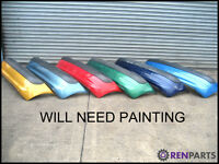 Renault Clio II PH2 Rear Bumper WILL NEED PAINTING 2001 2002 2003 2004 2005
