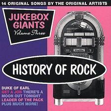 History of Rock: Jukebox Giants, Vol. 3 by Various Artists (CD,