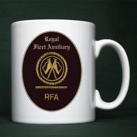 Royal Fleet Auxiliary - LH(C) Badge - Personalised Mug