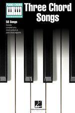 Three Chord Songs Sheet Music Piano Chord SongBook NEW 000311814