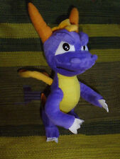 "Spyro the Dragon 11"" tall plush stuffed purple Toy Network 2003 hard to find"