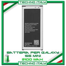 BATTERIA PER SAMSUNG PER GALAXY S5 Mini G800F 2100mAh' PARI ALL' ORIGINALE