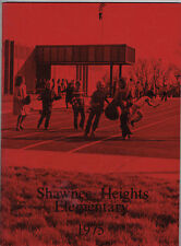 Shawnee Heights Elementary School Vintage 1975 YEARBOOK Tecumseh, Kansas