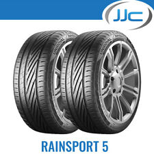 2 x Uniroyal RainSport 5 195/55/15 85V Wet Weather Road Tyres