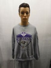 Nike Baltimore Ravens 2001 AFC Champions Crewneck Sweater L NFL