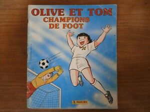 Album OLIVE ET TOM - Champions de Foot - 122/240 Stickers - PANINI France 1988