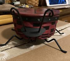 longaberger ladybug basket 2009 Set