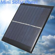 6V 1W Solar-Panel-Modul DIY für Licht-Batterie-Handy-Ladegeräte Spielzeug Nue