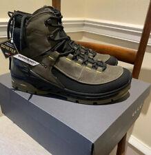 New! Men ECCO Biom 45 11-11.5 Venture TR Boot Black Tarmac Gore-tex, Yak Leather