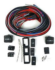 Spal Einbau Kit für Fensterheber VW Golf 3 Vento hinten Schalter, Rahmen, Kabel