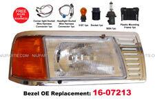 Peterbilt 377 Headlight w/ Adjusters & Corner Lamp and Bezel Chrome 16-07213 RH