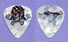 Ed Hardy Racing Skull Tattoo Guitar Pick