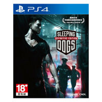 Sleeping Dogs Definitive Edition PlayStation PS4 2015 Chinese Factory Sealed