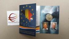 Coin card 2 euro 2005 fdc Albert Belgio Belgica Belgique Belgium Belgien België